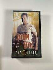 X-Files John Doe Consideration VHS Tape