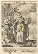 Kaiserin Hildegard (Kempten) : Kupferstich/M. Rader SJ / Bavaria Sancta, 1624