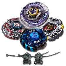 Beyblade 4 Pk Scythe Kronos+Mercury Anubis Blue+Variares+ Drago Black w/ 2x LL2