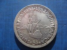 South Africa Five Shilling Crown 1952.