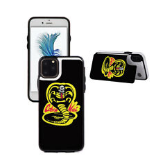 COBRA-KAI Wallet Phone Case With Stand fit For iPhone & Samsung