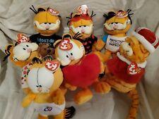 TY Beanie Babies ( 7 GARFIELD )
