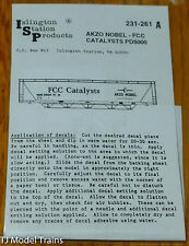 Islington Station Prodcuts #231-261A AKZO Nobel - FCC Catalysts PD5000 (Decal)