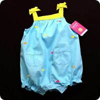 NWT~CARTERS~Bubble ROMPER~ONE-PIECE~Sunsuit~SUMMER~INFANT/BABY Girls~U PICK SIZE