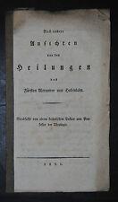 Brenner – Heilungen des Fürsten Alexander von Hohenlohe - 1821
