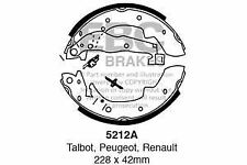 5212A EBC Rear Brake Shoes for CHRYSLER (UK)  MATRA PEUGEOT PEUGEOT  RENAULT SIM