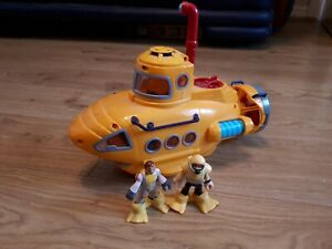 Imaginext Yellow Submarine with figures