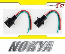 Nokya Wire Harness Pigtail Male 9008 H13 Nok9159 Head Light Socket Connector Fit
