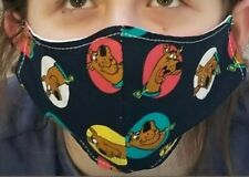 Home Made Face Mask Scooby-Doo Double Cloth Washable Reusable all sizes