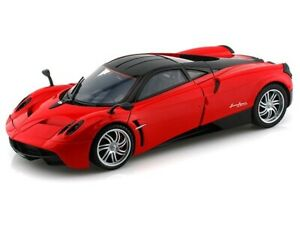 PAGANI HUAYRA RED 1/18 DIECAST CAR MODEL BY MOTORMAX 79160