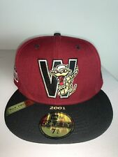 New Era Wisconsin Timber Rattlers 100th Anniversary Patch 59FIFTY Cap 7 3/4