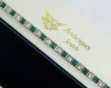 LADIES GREEN CRYSTAL MAGNETIC BRACELET/BANGLE HEALING PAIN RELIEF COPPER/SILVER