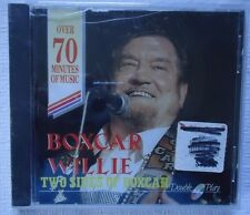 BOXCAR WILLIE TWO SIDES OF BOXCAR (CD, MCPS) FACTORY SEALED