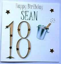 PERSONALISED HANDMADE 18TH 21ST 30TH 4OTH 50TH 60TH 70TH 80TH BIRTHDAY CARD SON