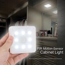 Ultra-Thin Wiederaufladbare Motion Sensor  LED Licht PIR Hallways Nachtlichter