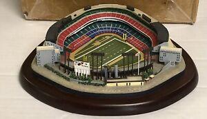 Danbury Mint Milwaukee County Stadium Mini Replica Green Bay Packers Please Read