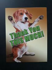 """Funny Thank You Card ~ Notions ~ Smaller Card 5"""" x 4"""""""