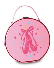 Dancers do it with Attitude Glitter Vanity Bag Ballet// Tap Pink /& Black Glitter!