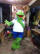 Kermit the Frog Baby Muppets Mascot Costume Party Character Halloween Cosplay