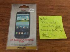 Samsung Galaxy S3 Anti-Glare Screen Display Protector (1 New Screen Protector)