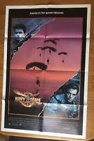 NAVY SEALS Original D/S Movie Poster 27x41 STYLE A CHARLIE SHEEN MICHAEL BIEHN