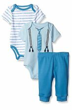 Calvin Klein 12 month bodysuit romper pants set Birthday Gift 1 stripes CK xmas