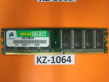 CORSAIR VALUE SELECT-DDR 512 MB-DIMM 400 MHz/pc3200-cl2.5 #kz-1064