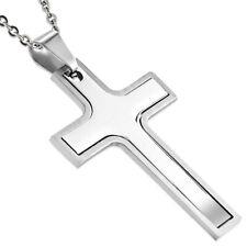 unisex Edelstahl Kreuz Anhänger, Stainless Steel cross Pendant z-tpb017