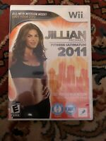 Jillian Michaels Fitness Ultimatum 2011 (Nintendo Wii, 2010) tested working