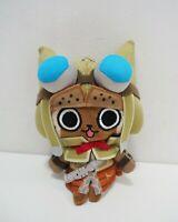 "Monster Hunter Airou Universal Studio 6"" Japan Mascot Keychain Plush Doll Japan"