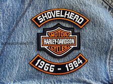 Harley Davidson   SHOVELHEAD  PATCH  SET  US  NEU!