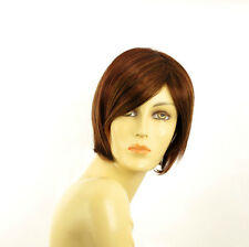 short wig for women brown wick light blond and red ref: CECILIA 33h130 PERUK
