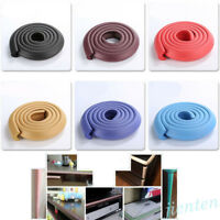 2M Soft Safety Protector Baby Table Desk Edge Corner Cushion Guard Strip Bumper