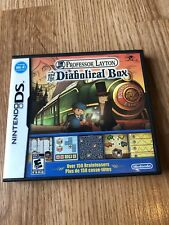Professor Layton and the Diabolical Box (Nintendo DS, 2009) Works VC2
