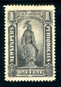 USAstamps Unused VF US 1885 Periodical Scott PR81 OG MHR