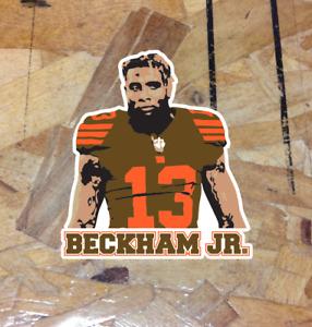 """Odell Beckham Jr. Cleveland Browns Fan Sticker Decal Bumper Car Window 4"""""""