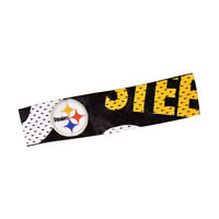New NFL Pittsburgh Steelers Fanband Jersey Headband Head Band Official Licensed