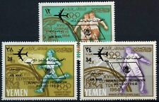 Yemen 1966 SG#R158-R160 Olympic Games MNH Set #D59625