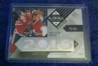 2016 Upper Deck SP Game Used All-Star Skills Relic Blends/99 Patrick Kane Card