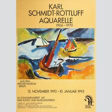 Karl Schmidt-Rottluff: Aquarelle. Von der Heydt-Museum Wuppertal 1993