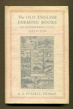 The Old English Farming Books from Fitzherbert to Tull-1st Edition/DJ-1947