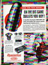 1947 REMINGTON DUPONT & EDDIE BAUER  ADS- CORE-LOKT - KLEANBORE- PENDLETON SHIRT