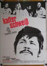 KALTER SCHWEISS (Plakat '72) - CHARLES BRONSON / LIV ULLMANN / JAMES MASON