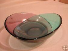 Orrefors Twist Color Bowl For Conte Nast 2005 Bergstrom