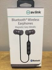 Av Link Bluetooth Inalámbrico Auriculares magnético para IOS & Dispositivos Android