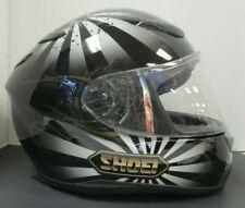 Shoei RF-1100 Motorcycle Helmet Size Large Black/Gray