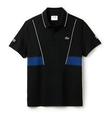 Camisa Polo Lacoste Sport - 4XL T9-Negro-Bnwt-Ultra Seco-DH3325-RRP £ 89