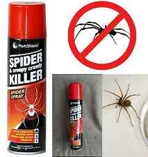 More details for spider & creepy crawly killer spray eliminates insect bugs pest control 200ml