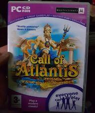 Call Of Atlantis - PC GAME- FREE POST