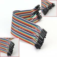 40PCS 2.54MM Dupont Jumper Wire Conector Cables Female to Female para Arduino